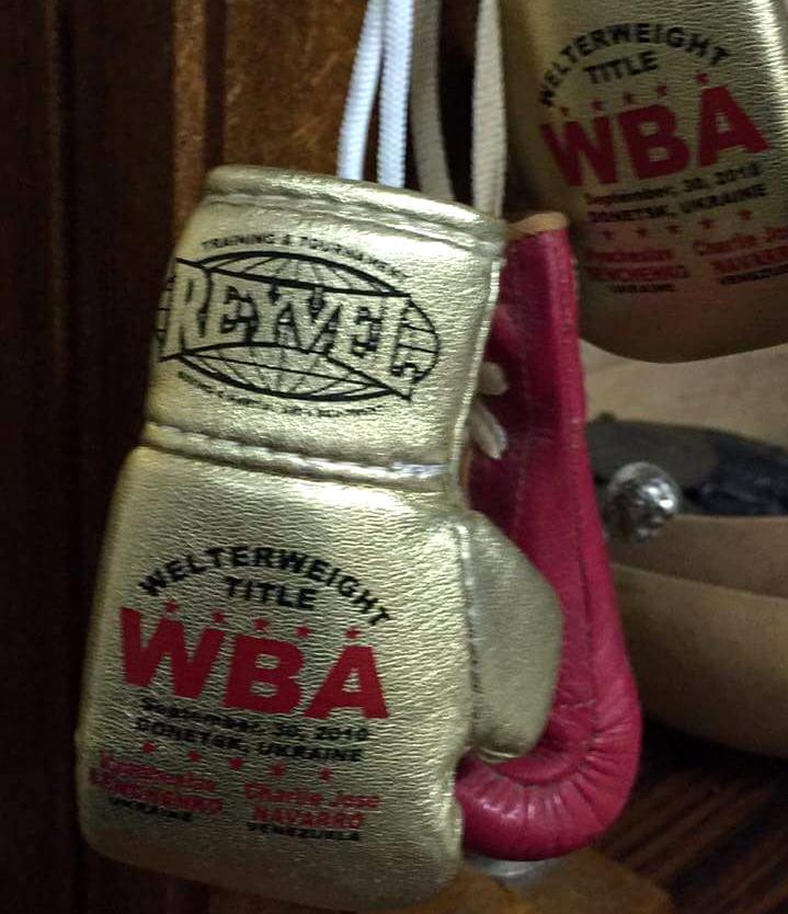 Перчатки Union Boxing Promotion WBA